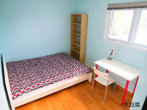 Furnished upstairs bedroom Avail now,Close to Whitehorn Lrt