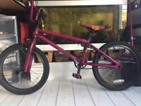 Purple Mongoose BMX