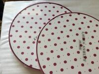 New Laura Ashley table mats
