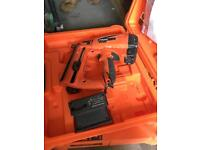 Second fix nail gun