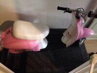 Razor moped