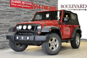 2011 Jeep Wrangler A/C BAS KM SPORT NO ACCIDENTS  LED