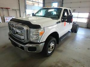 2012 Ford Super Duty F-350 DRW XLT Cab & Chassis 6.2L Gas