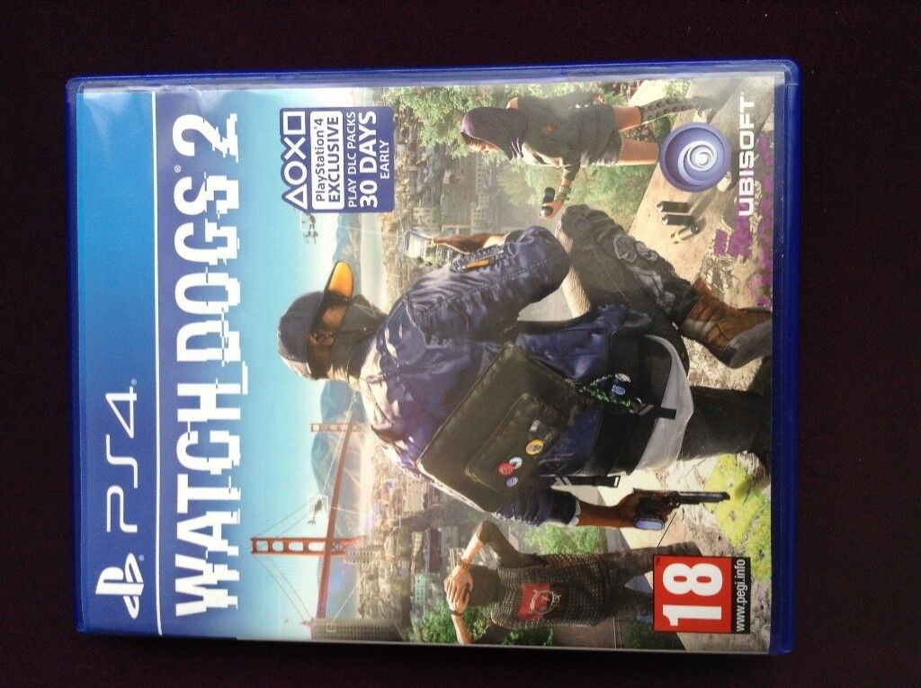 Watch Dogs 2 (Used) Mint conditionin Leicester, LeicestershireGumtree - Watch Dogs 2 (Used) Mint condition Available for collection Delivery can be done via Royal Mail (3.00) Very cheap price Nothing wrong with the disc (no scratches or defects) Contact me ASAP Thanks
