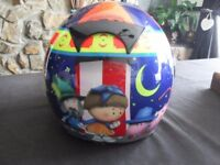 crash helmet magic roundabout medium excellent condition