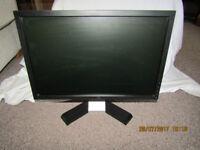 """2 x 19"""" DELL E1910f monitor"""