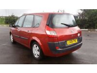 7 SEATER RENAULT GRAND SCENIC 1.5 MANUAL IN TOP CONDITION. LONG MOT. FULL SERVICE HISTORY. HPI CLEAR