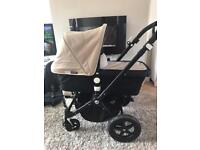 Limited black edition and cream unisex bugaboo cameleon 3