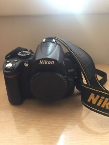 Nikon camera with lenses and more