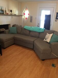 Brand New Grey Sectional Couch