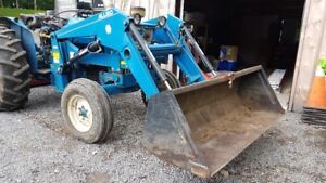 Ford 4000 Quick Attach Loader