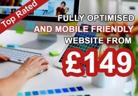 ELEGANT BESPOKE WEB DESIGN AND SEO FRIENDLY WEBSITE FROM £149 AND E-COMMERCE WEBSITE FROM ONLY £599
