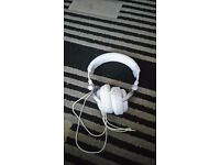 White like new Headphones