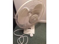 Lloytron Fan. Used in adequate condition and working order.