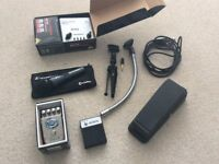 Microphone (plus preamp) and effect pedals bundle