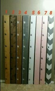 Growth Chart Ruler Board