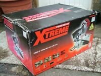 POWER XTREME ELECTRIC SLIDING MITER SAW WITH LASER