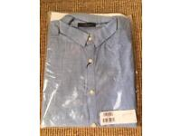 Brand New With Tags Blue Selected Homme Shirt Medium