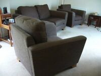 NEW MARKS SPENCER 2 SEATER SOFA+2 LOVE CHAIRS CAN DELIVER