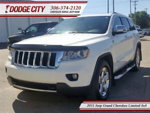 2011 Jeep Grand Cherokee Limited | 4x4 | PST PAID