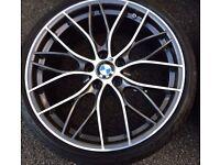 "BMW 20"" M PERFORMANCE GENUINE ALLOYS"
