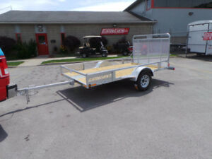 Utility Trailer -NEW- 10 feet long with full mesh ramps