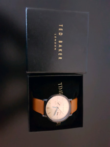 Ted Baker London Mens Leather Strap Watch