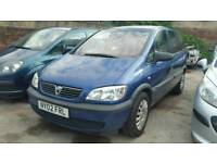 VAUXHALL ZAFIRA 1.6 7 SEATER EXCELLENT CONDITION