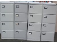 Metal storage cabinet and filing cabinet