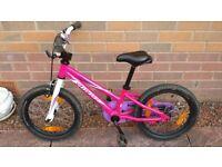 "Girl's Specialized Hotrock Coaster 16"" Bike"