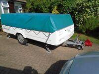 Conway Countryman 2007 folding camper, sleeps 4, Plus awning.