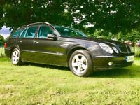 2006 MERCEDES E CLASS 320 CDI AVANTGARDE , FULL S/H , LONG MOT , 3 MONTHS WARRANTY