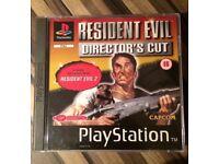 Resident Evil Directors Cut. (Ps1/Ps2)