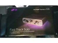 AVID Fast Track Solo - USB Audio Interface