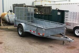 Hot Dip Galvanized Utility Trailers In Stock