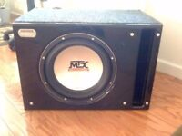 mtx tHunder 4500 ,,15'' inch car subwoofer