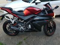 YAMAHA YZF R125 - AS GOOD AS NEW-HALF THE PRICE