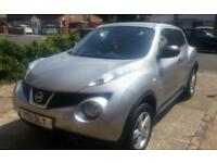 Nissan Juke 1.5DCI Silver 1 Female Owner from new