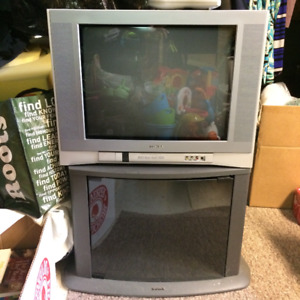 "TOSHIBA 16"" TV WITH STAND"