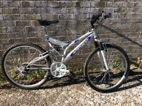 Immaculate adult twin suspension bike