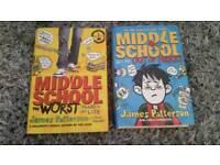 Middle School children's books