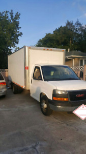 2007 GMC box truck 16.5 FT