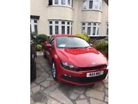 VW Red Scirocco