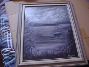Sailing Ship Oil Painting