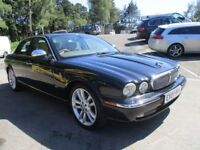 JAGUAR XJ 2.7 TDVI SOVEREIGN 4d AUTO 206 BHP (black) 2007