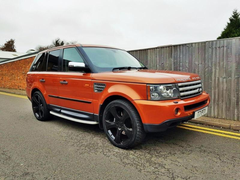 2005 land rover range rover sport 4.2 v8 supercharged first