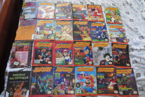 Huge Collection of Rare Vintage Nintendo Power Magazines-24