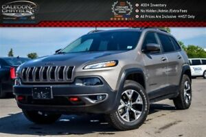 2016 Jeep Cherokee Trailhawk|4x4|Navi|Backup Cam|Bluetooth|Heate