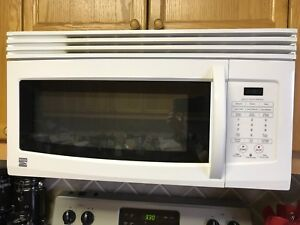 Kenmore over range microwave