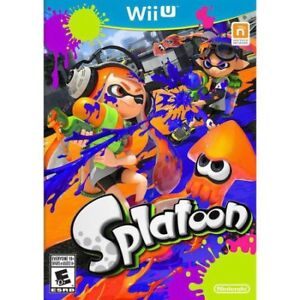LOOKING FOR: Splatoon for the Wii U